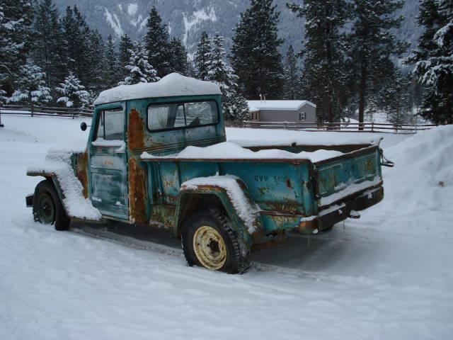 Jeep Truck >> jeep barn find